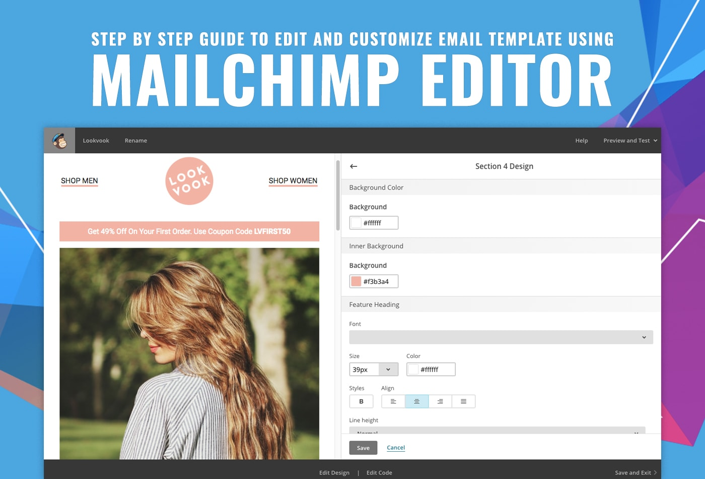 Edit And Customize Email Template With Mailchimp MailerStock - Mailchimp template ideas