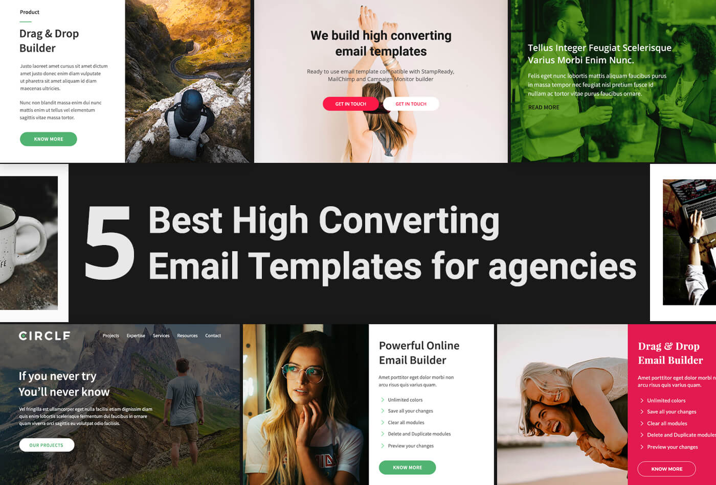 High converting email template for agencies