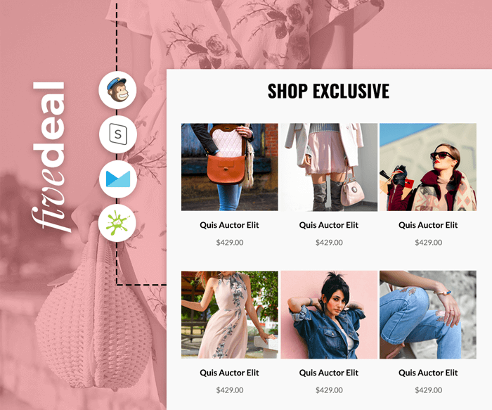 Fivedeal - Multipurpose eCommerce email template preview